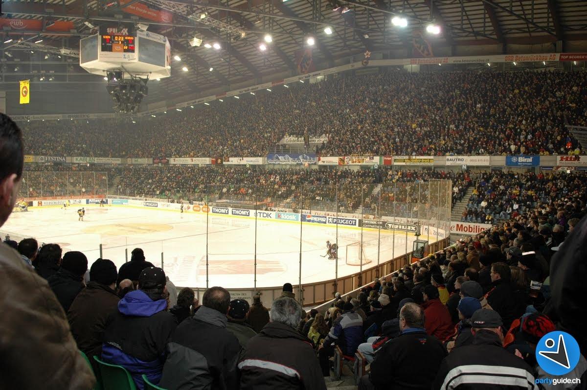 Hockey en Suisse : Bern – Lausanne