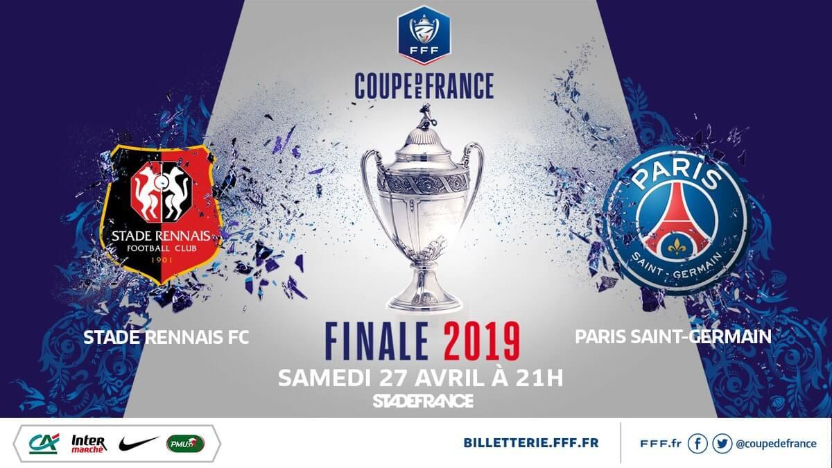 Finale de la Coupe de France : Paris – Rennes
