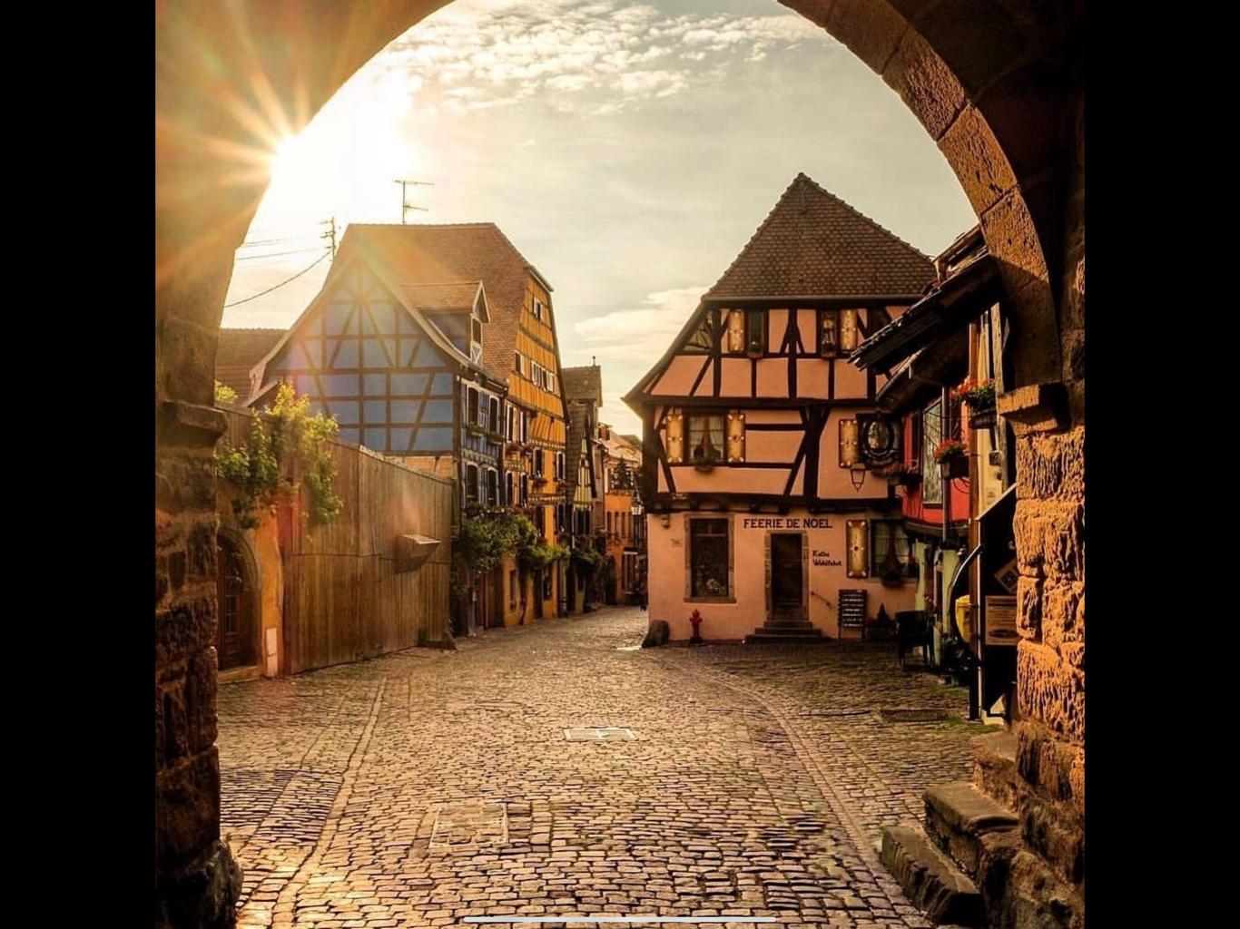 Visite d'Eguisheim et Riquewihr avec dégustation le 28 juin 2020